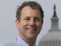 Sen. Sherrod Brown, (D) and Republican challenger Josh Mandel
