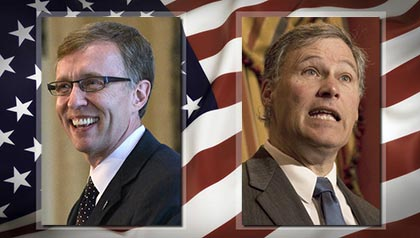 State News WA: Governor's race, Jay Inslee and Rob McKenna