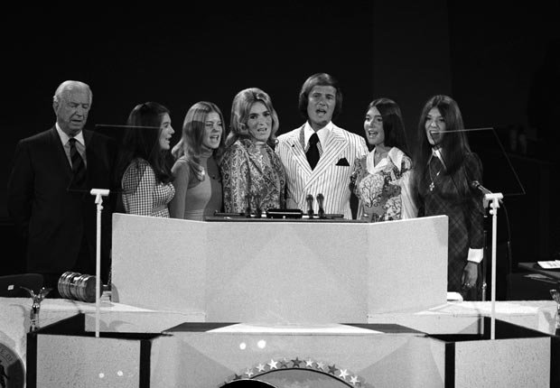 Boone family 1972, celebrities at RNC