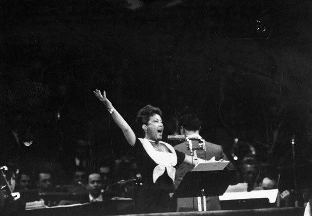 Ethel Merman 1956, celebrities at RNC