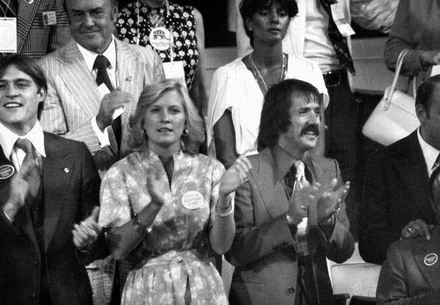Sonny Bono 1976, celebrities at RNC