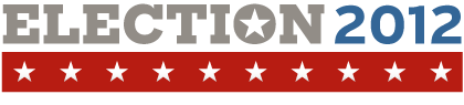 Election 2012 banner