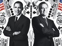 Barack Obama y Mitt Romney, Entrevistas con el boletín de AARP