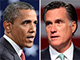 Barack Omaba and Mitt Romney, first Presidential Debate
