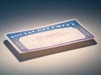 Tarjeta del seguro social - el seguro social no tiene la culpa de los problemas presupuestarios