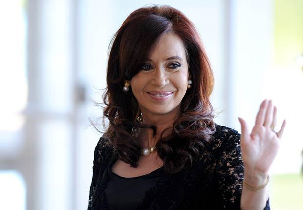 Presidente de Argentina Cristina Férnandez de Kirchner - Políticos famosos frente a enfermedades durante su servicio