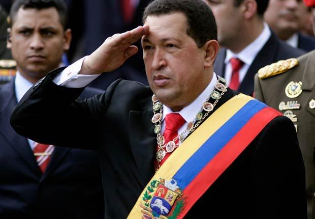 Presidente de Venezuela Hugo Chávez - Políticos famosos frente a enfermedades durante su servicio
