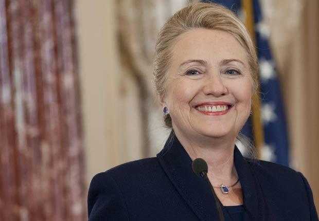 Secretaria de Estado Hillary Clinton - Políticos famosos frente a enfermedades durante su servicio