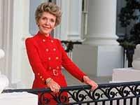 Nancy Reagan, exprimera dama de Estados Unidos