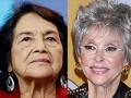 Dolores Huerta y Rita Moreno - Abuelas famosas