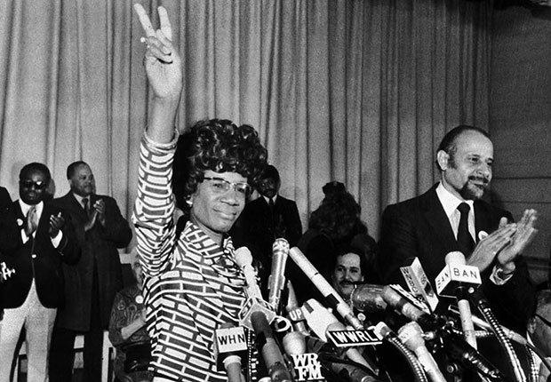 Shirley Chisholm - Mujeres que han aspirado a la presidencia