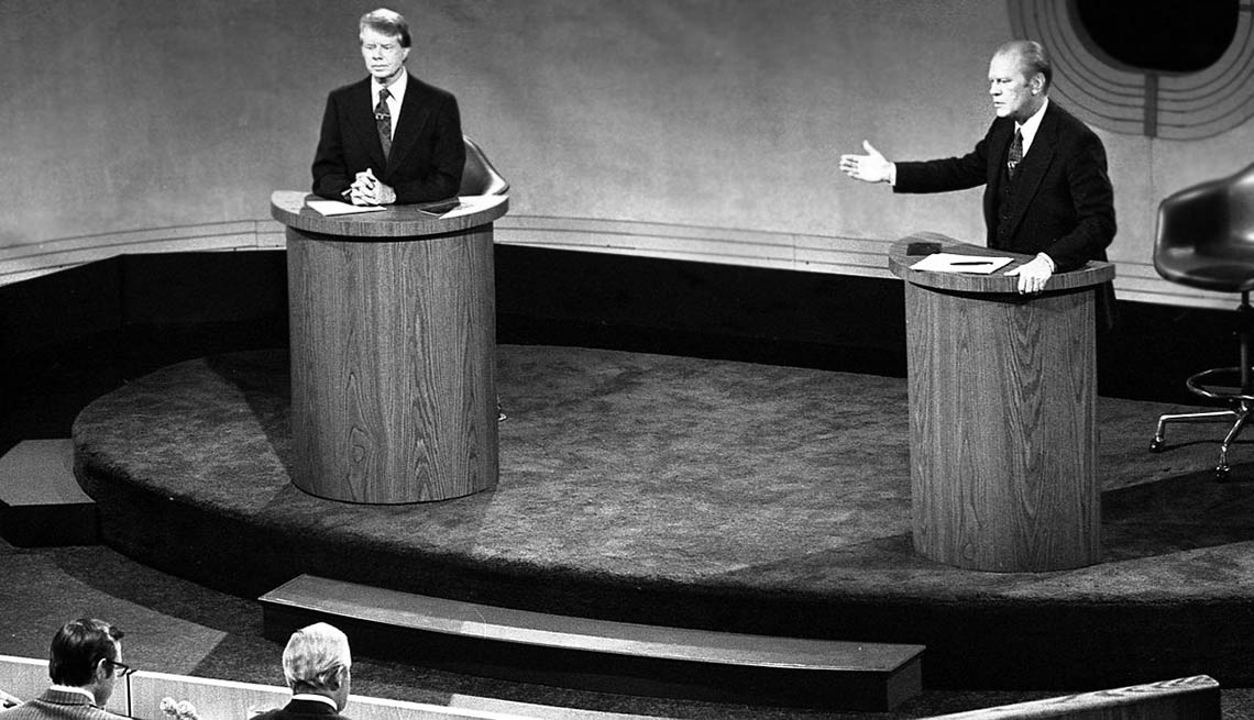 "10 Weird things that happened during presidential campaigns - President Gerald Fold declared during a debate, ""There is no Soviet domination of Eastern Europe."
