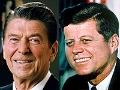 Ronald Reagan y John F. Kennedy
