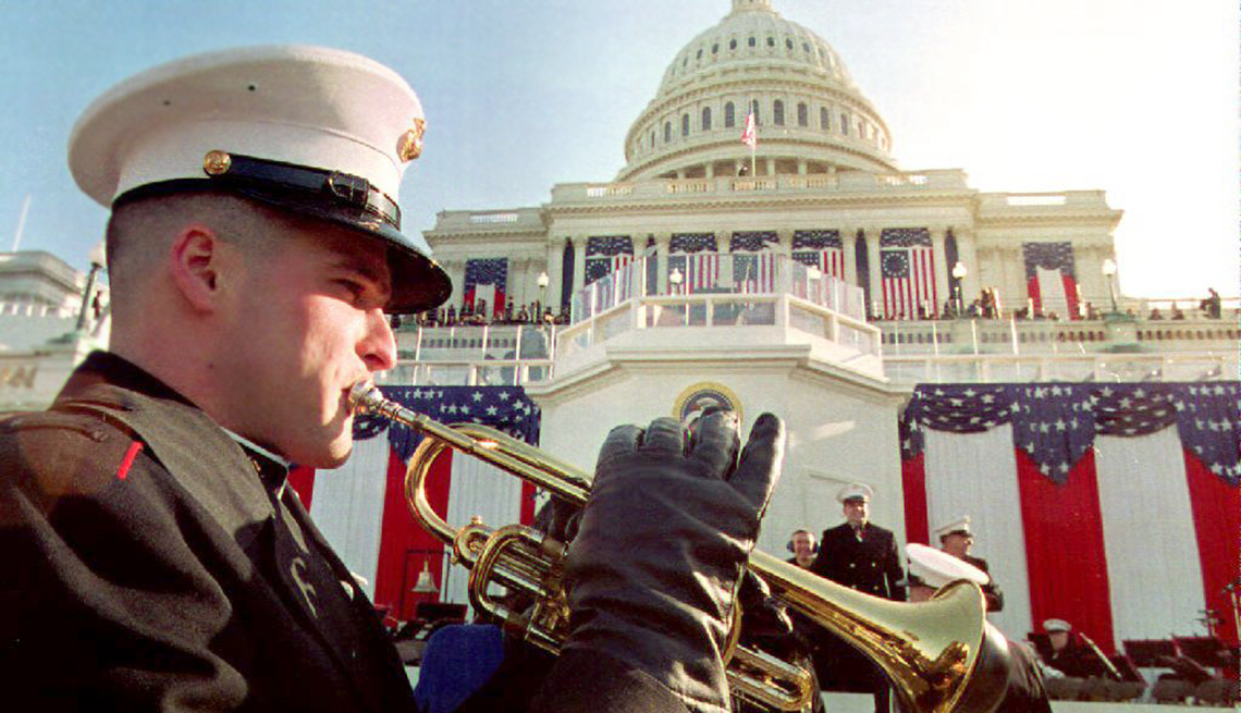 Inaugural Oddities - All Fired Up the Marine Band has played at every inauguration since Thomas Jefferson's