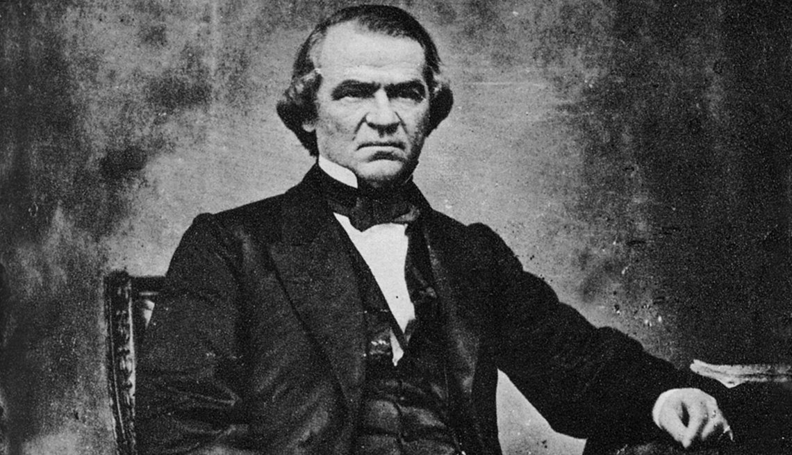 Inaugural Oddities - Less Than Presidential Vice President Andrew Johnson