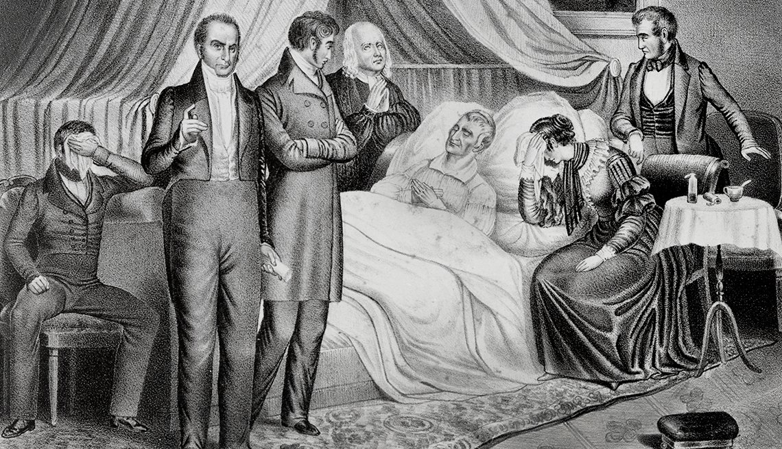 memorable inauguration moments - William Henry Harrison died of pneumonia a month after oath