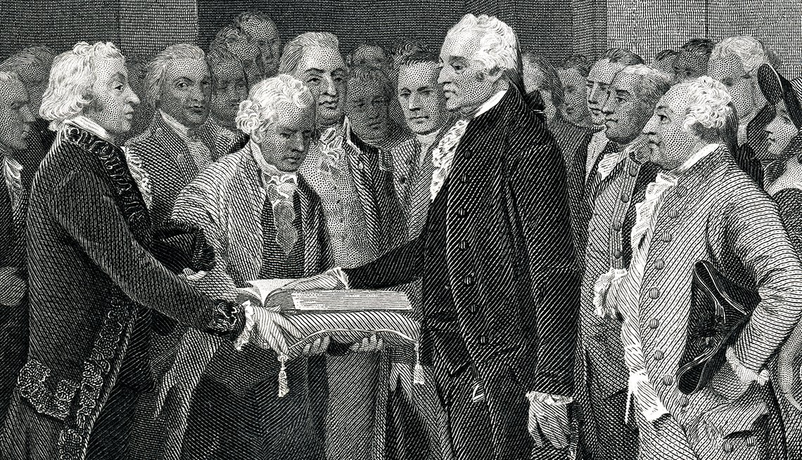 memorable inauguration moments - George Washington, in 1793, had the shortest inauguration speech in history