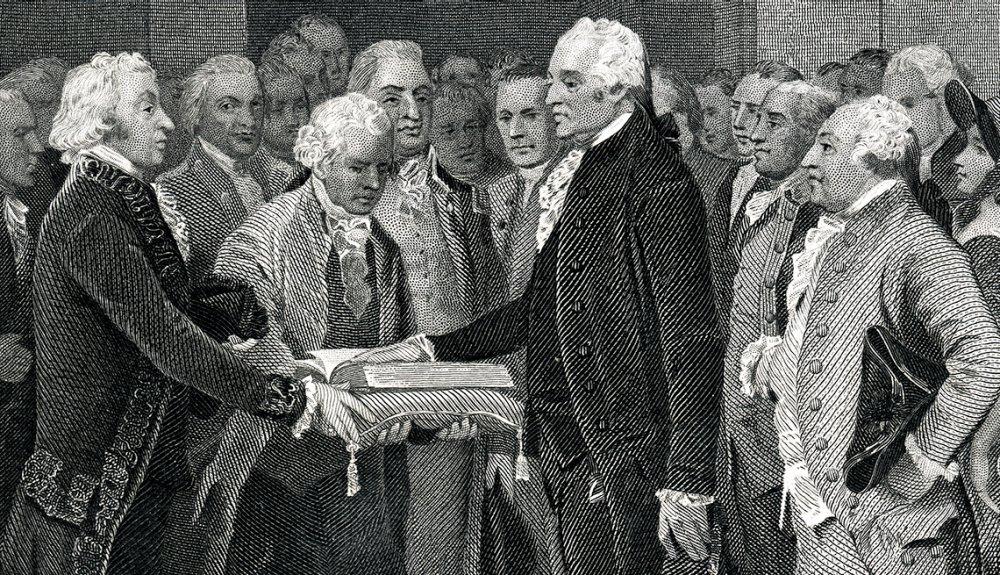Toma de posesión de varios presidentes de Estados Unidos