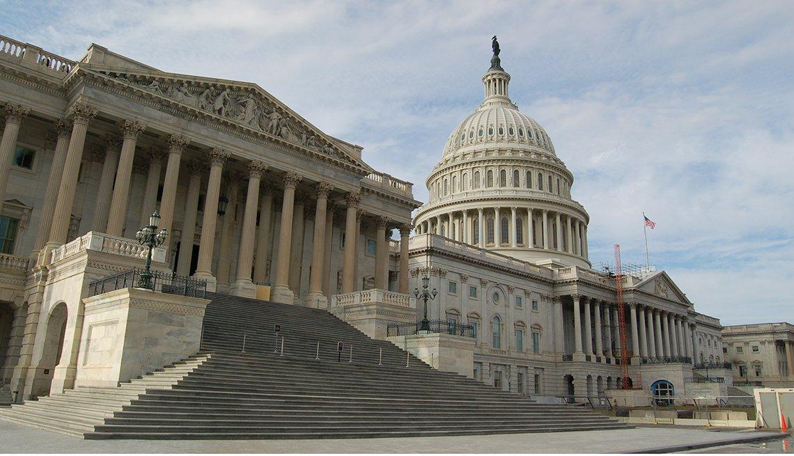 Capitilio de Estados Unidos en Washington D.C.