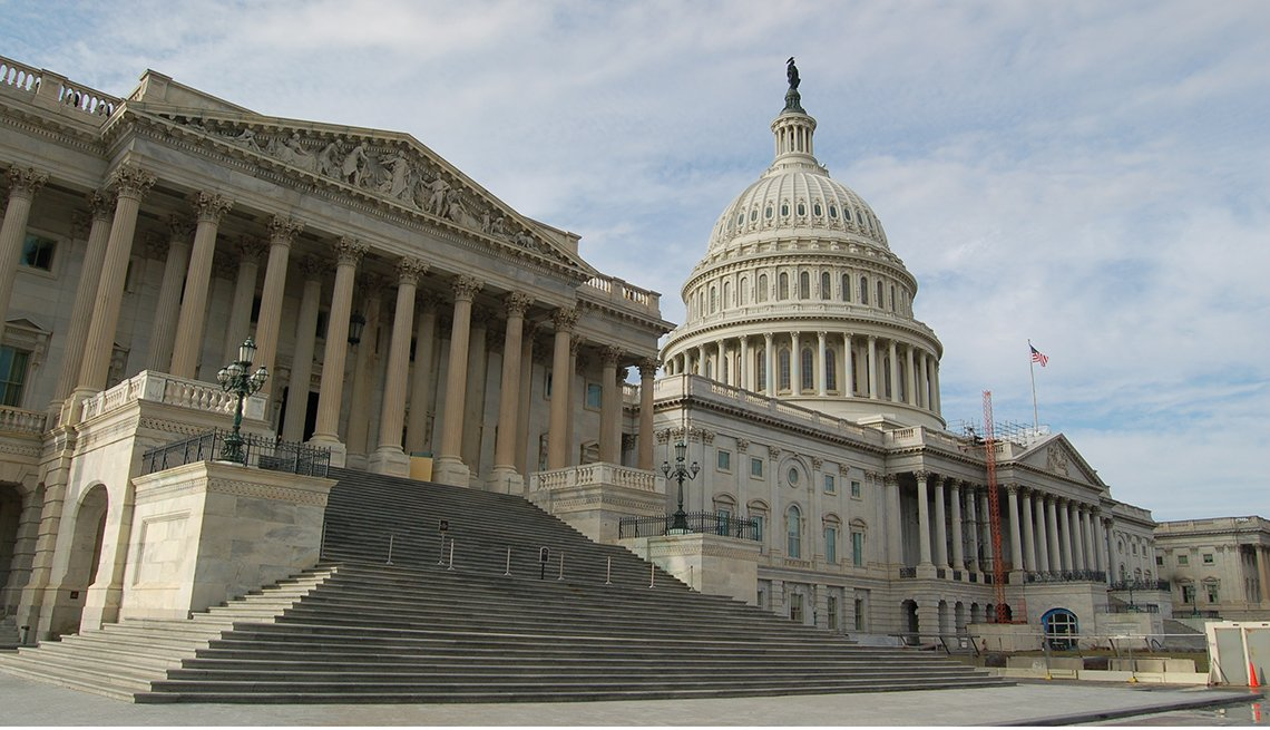 The United States Capitol in Washington D C