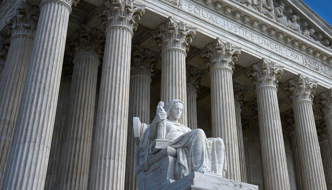 Imagen de la Corte suprema de Justicia de Estados Unidos.