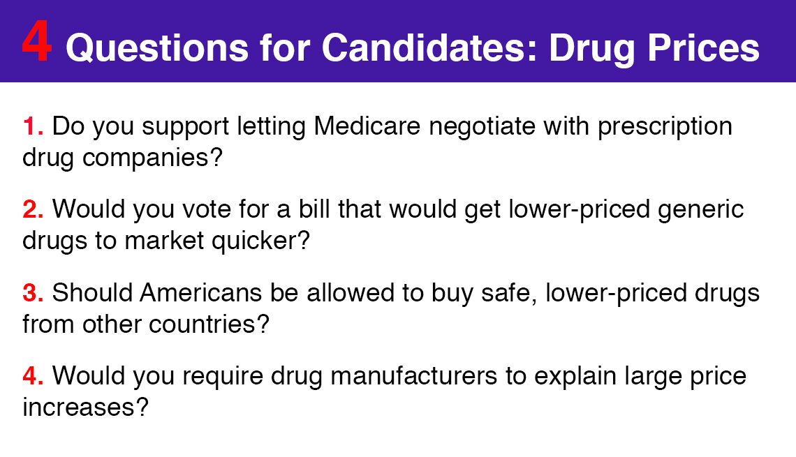 Older Voters Want Congress to Fix High Drug Prices