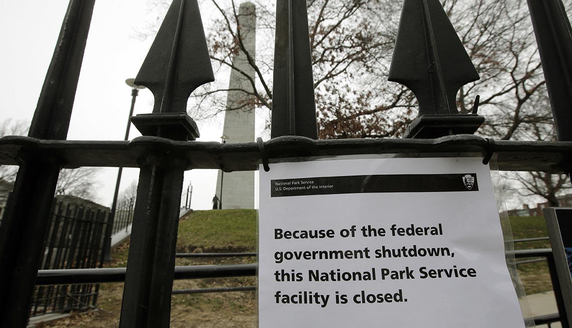 El cierre del Gobierno incide en los parques nacionales y museos