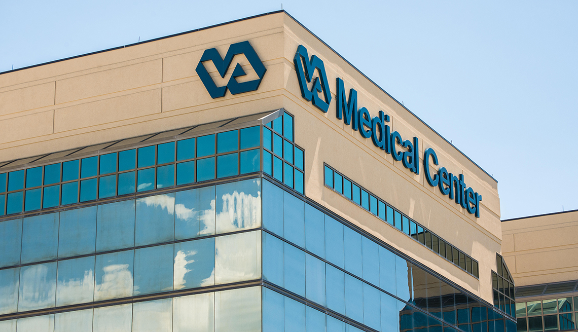 Edificio del V A Medical Center