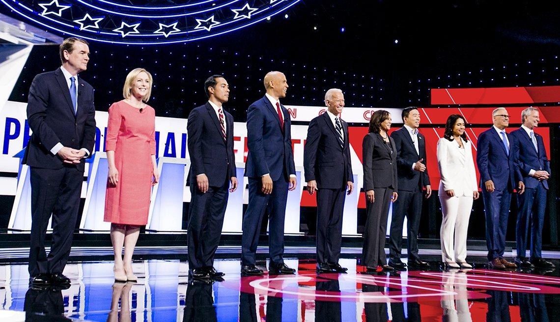 Candidatos demócratas a la presidencia