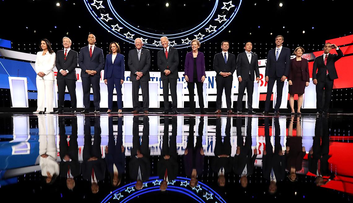 Candidatos presidenciales por el partido Demócrata
