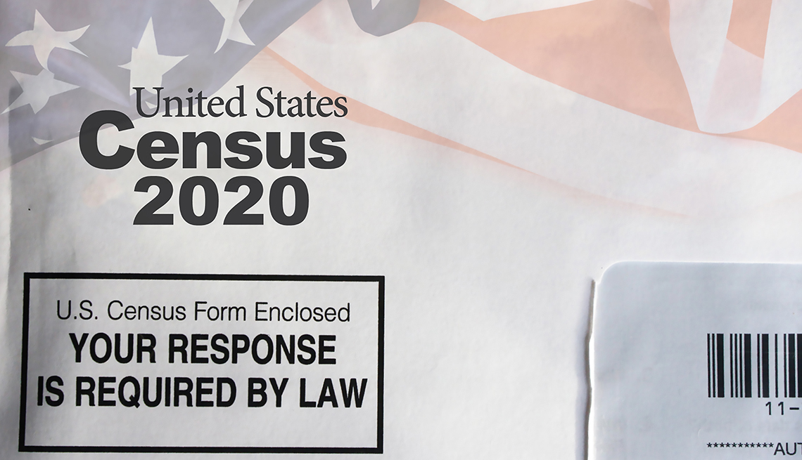 Census mail form