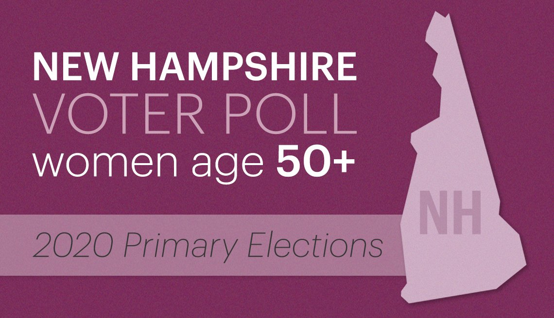 new hampshire voter poll of women age fifty plus