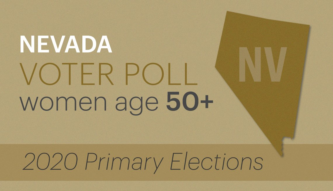 nevada voter poll of women age fifty plus