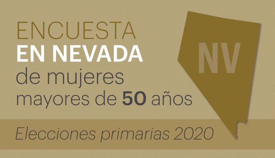 Encuesta en Nevada a mujeres votantes mayores de 50 años