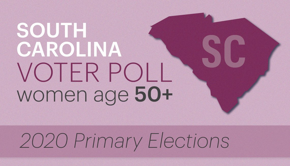 south carolina voter poll of women age fifty plus