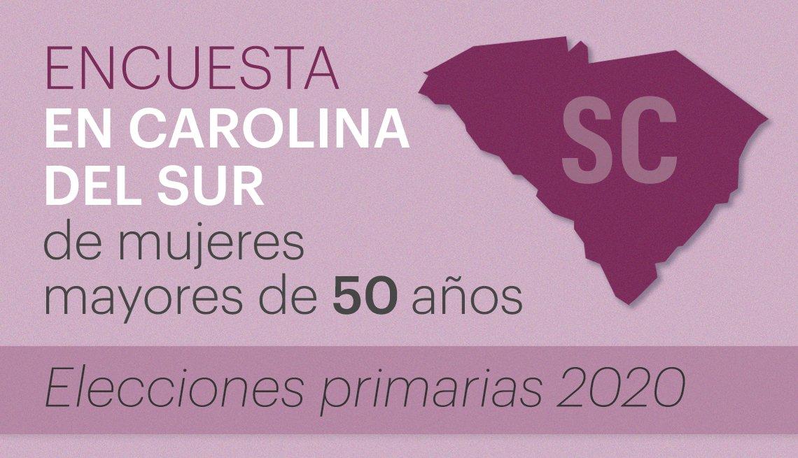 Encuesta en Carolina del Sur a mujeres votantes mayores de 50 años