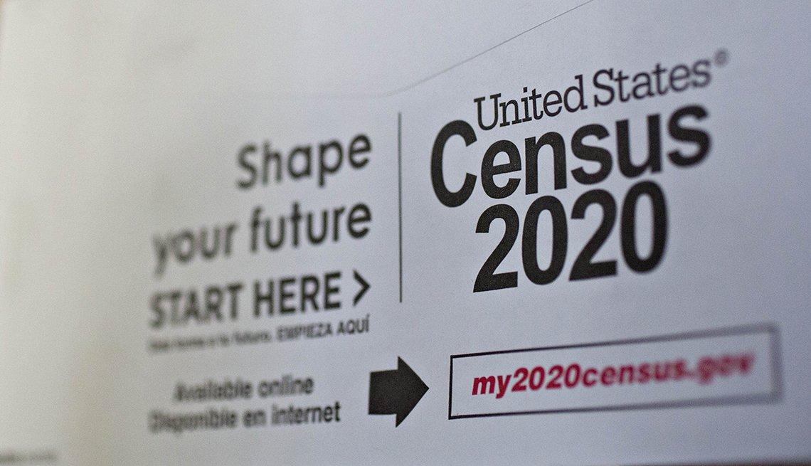 Formulario del Censo del 2020