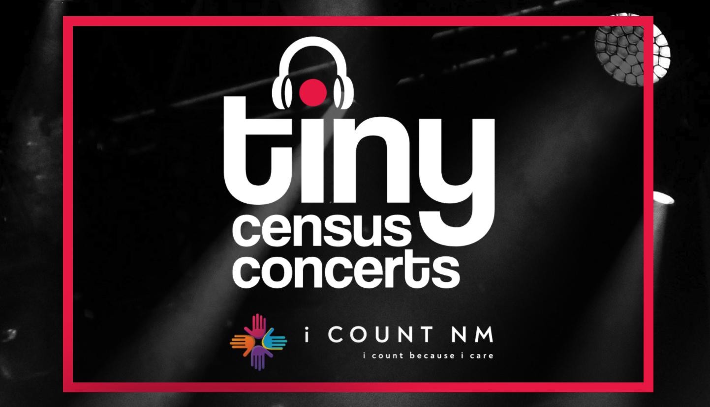 Tiny Census Concerts logo