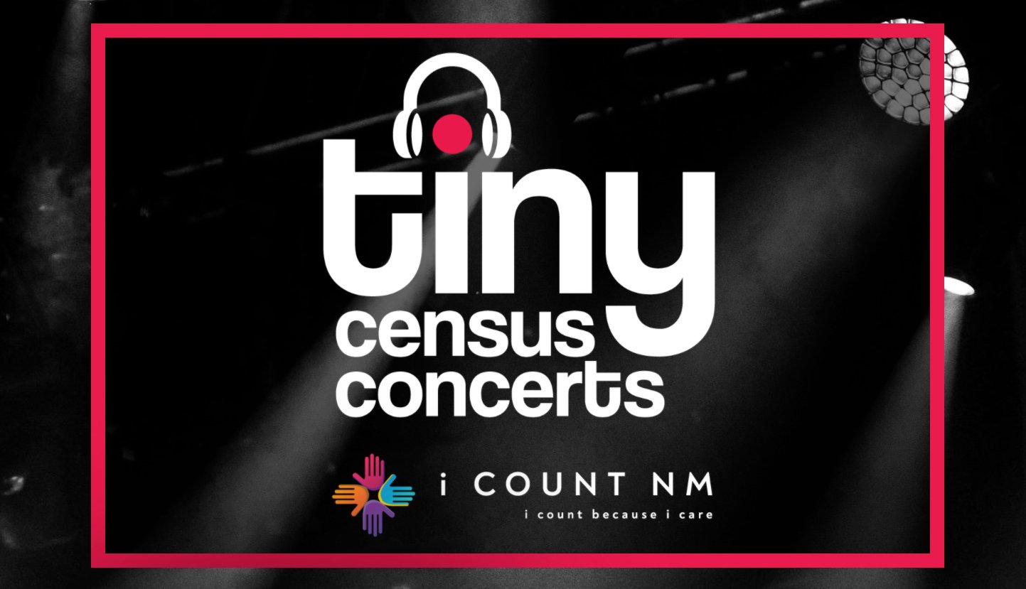 Tiny Census Concerts logo