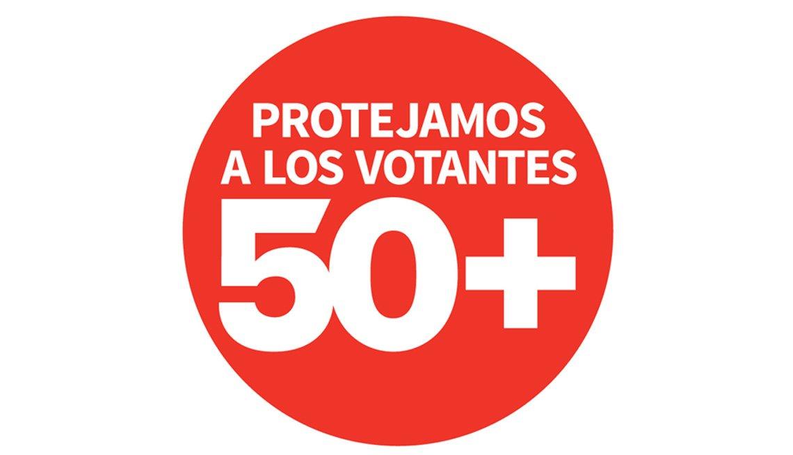 Logo de Protejamos a los Votantes 50+