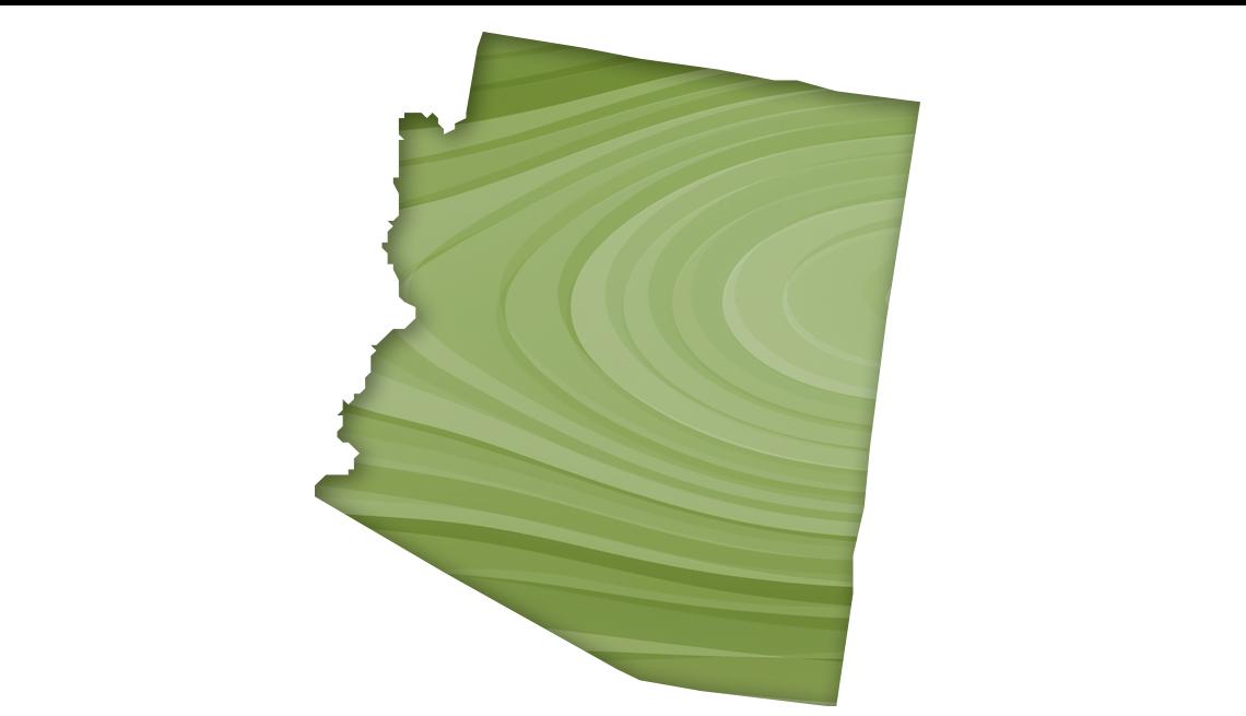 Mapa de Arizona