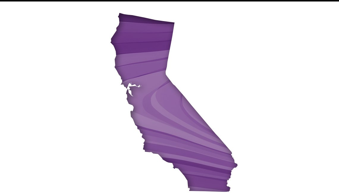 california map