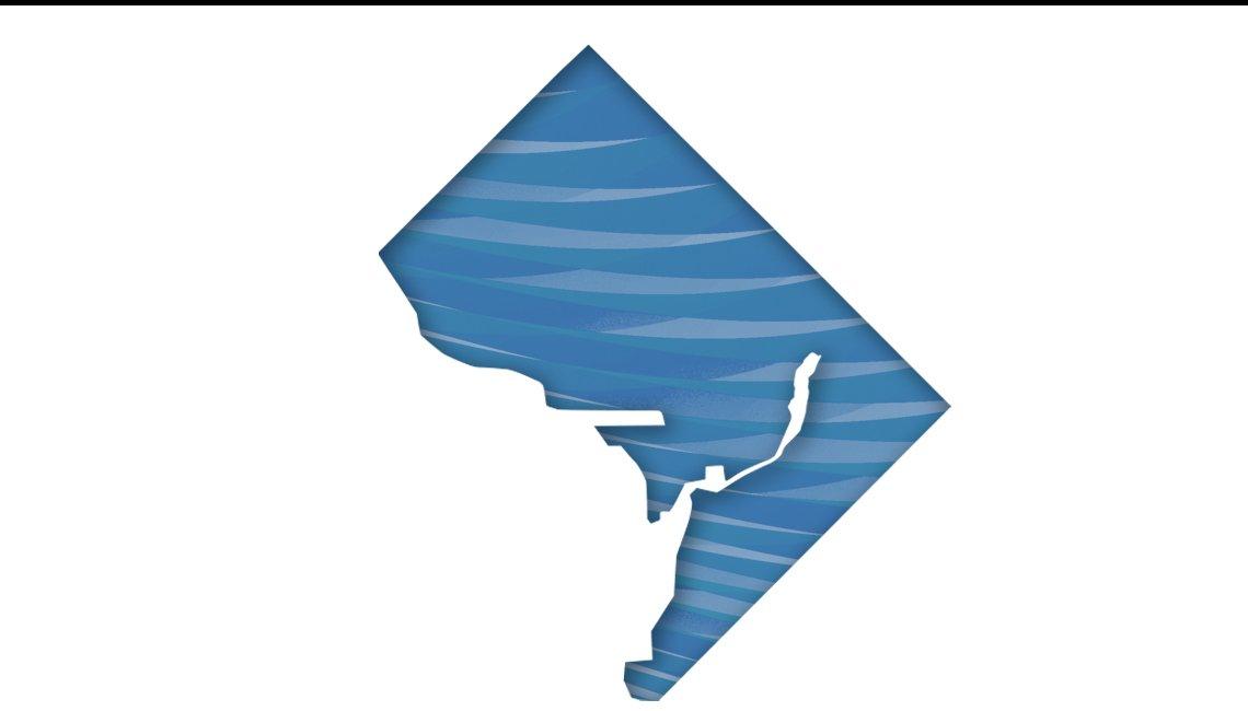 Mapa del Distrito de Columbia