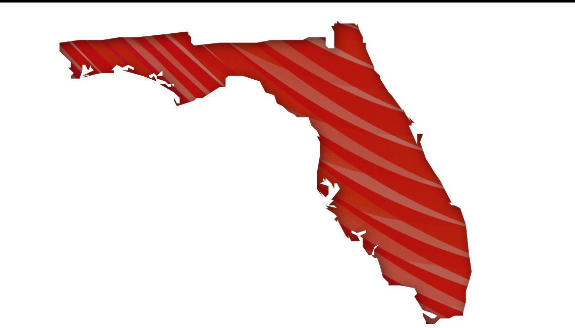 Mapa de Florida