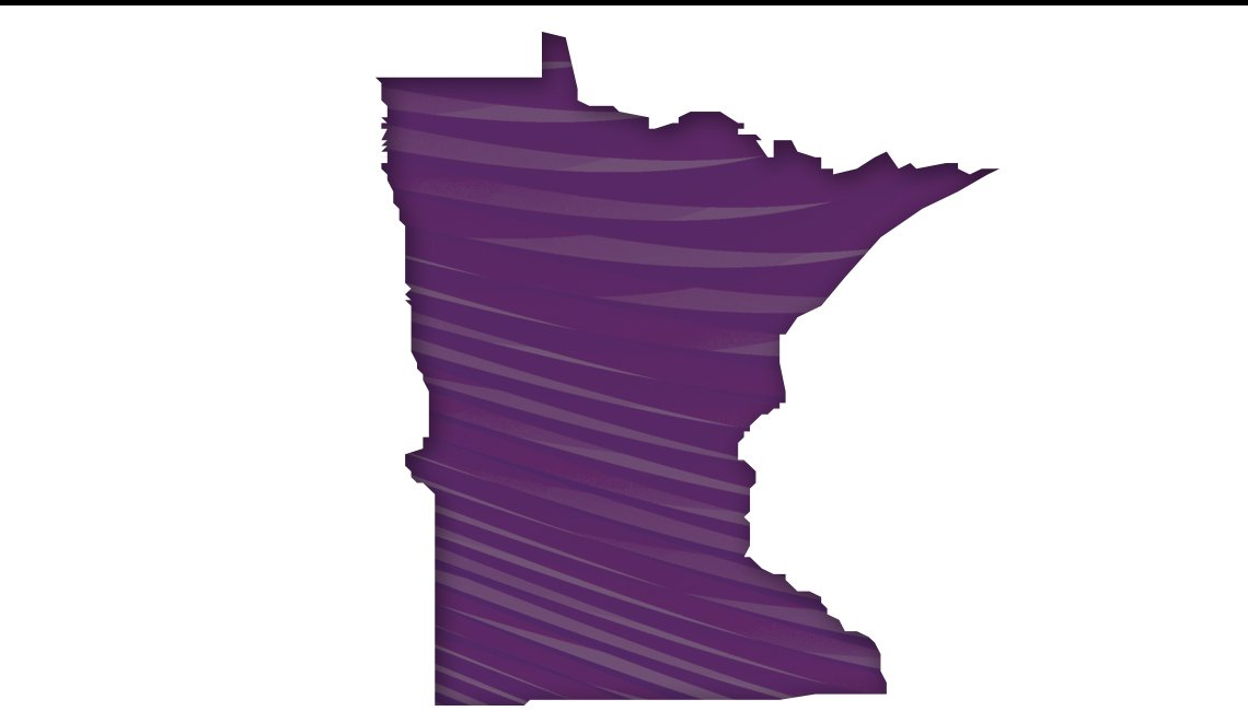Mapa de Minnesota