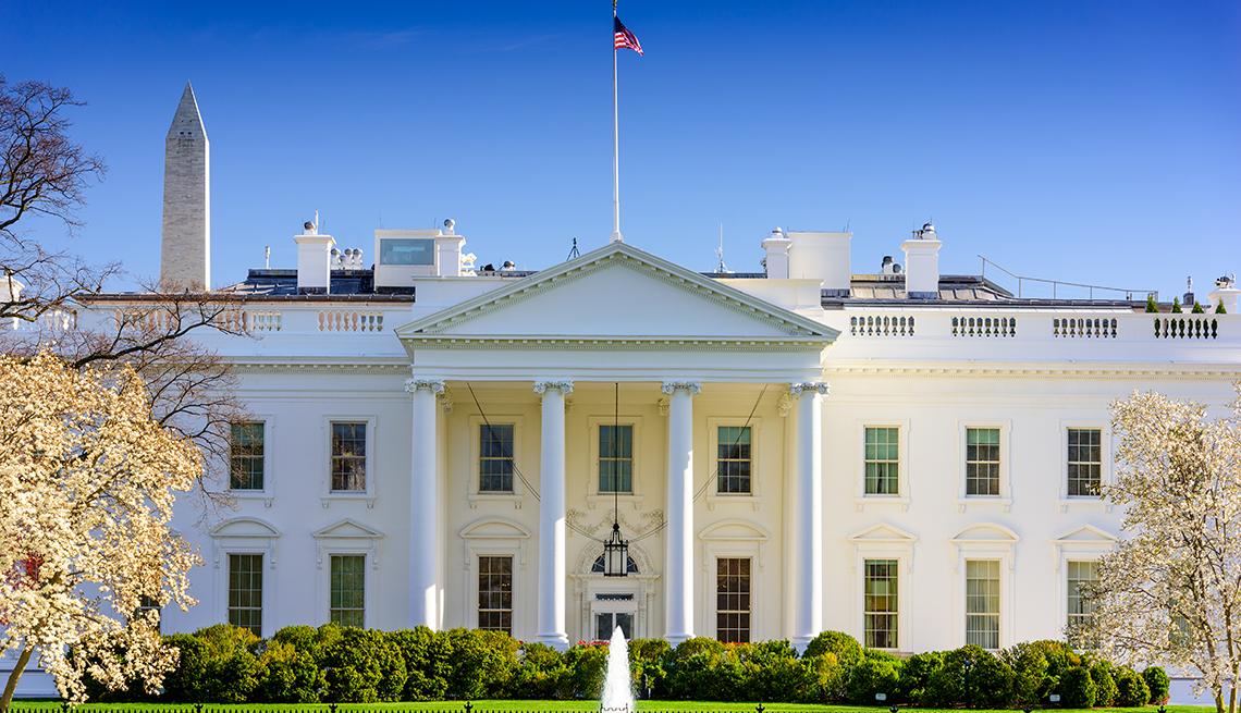 Panorámica de la Casa Blanca