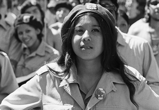 Young Chicana activist, Chicano Civil Rights