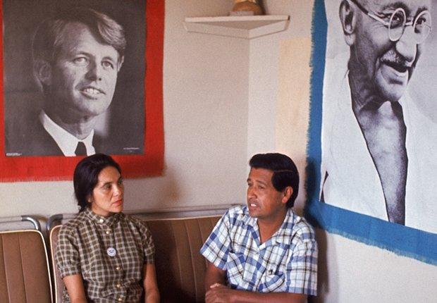 Dolores Heurta y César Chávez, Derechos Civiles chicanos