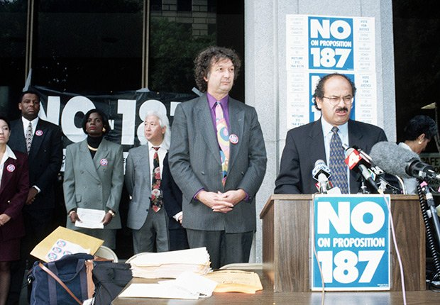 La Proposición 187, Derechos Civiles chicano