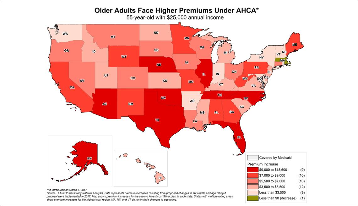 ACHA Premium Map